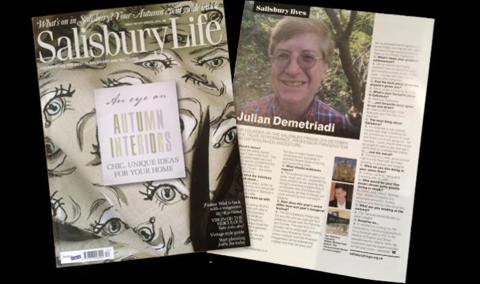 Salisbury Life Article 2014