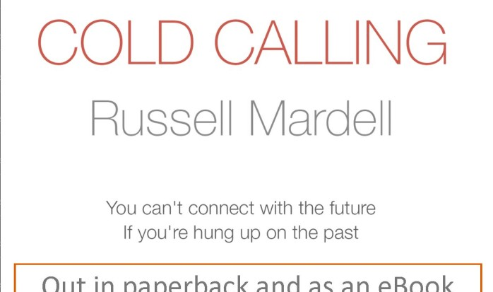 Salisbury author Russell Mardell to launch his new novel 'Cold Calling' at Waterstones on 19 March
