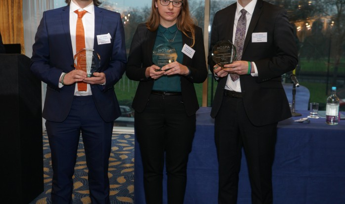 Overall Outstanding HOSPA Professional Development Learners 2016 revealed at HOSPA's very first Annual Student Awards Ceremony