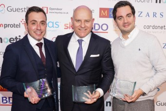 2017 HOSPA Inspirational Leader Professionals of the Year Awards for Hospitality Finance, Revenue Management and IT, named and honoured by HOSPA at its HOSPACE2017 Gala Awards Dinner