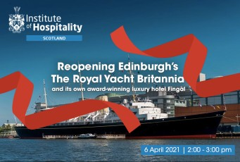 Delighted to become a Committee member of the Institute of Hospitality Scotland Branch